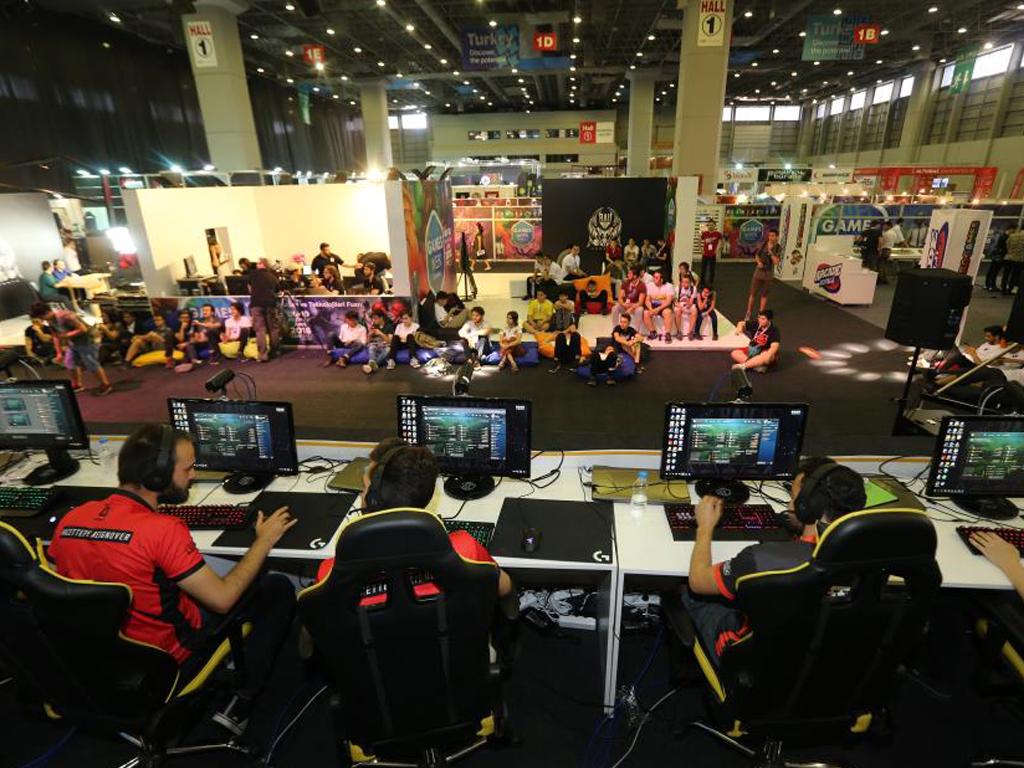 CNR Games Week 2018 - Video Oyunları ve Teknolojileri Fuarı