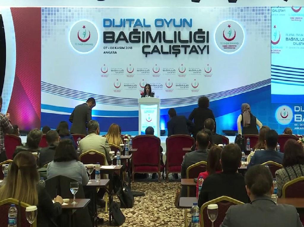 Sağlık Bakanlığı - Dijital Oyun Bağımlılığı Çalıştayı Sonuç Raporu
